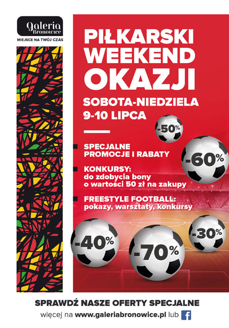 FOOTBALL WEEKEND OF SPECIAL DEALS