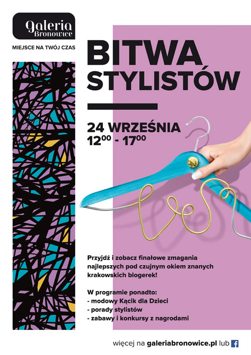 Stylists competition at Galeria Bronowice