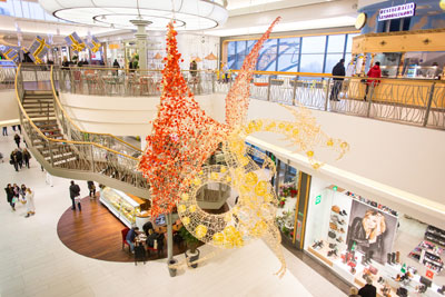 Galeria Bronowice dresses up for Christmas