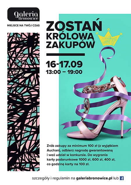 Become the Shopping Queen of Galeria Bronowice